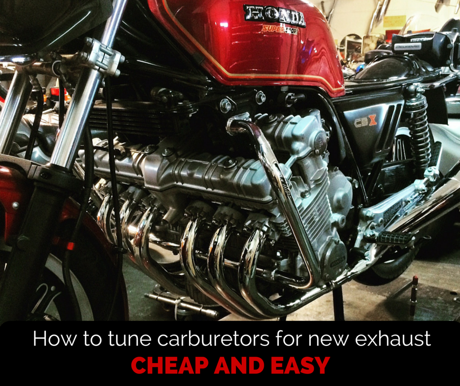How To Tune Your Carburetors For New Exhaust   MotorcycleMD